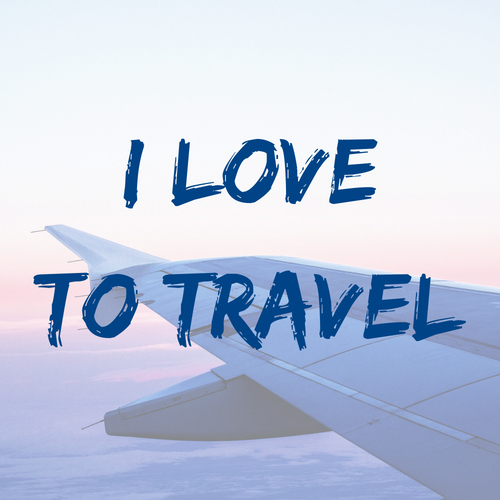 I love to travel - career videos