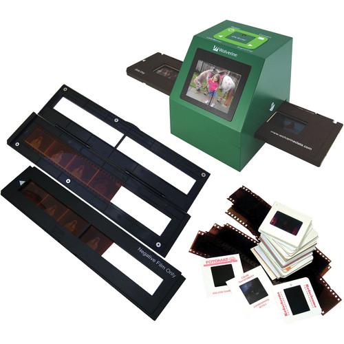 green box slide converter, with slide holders