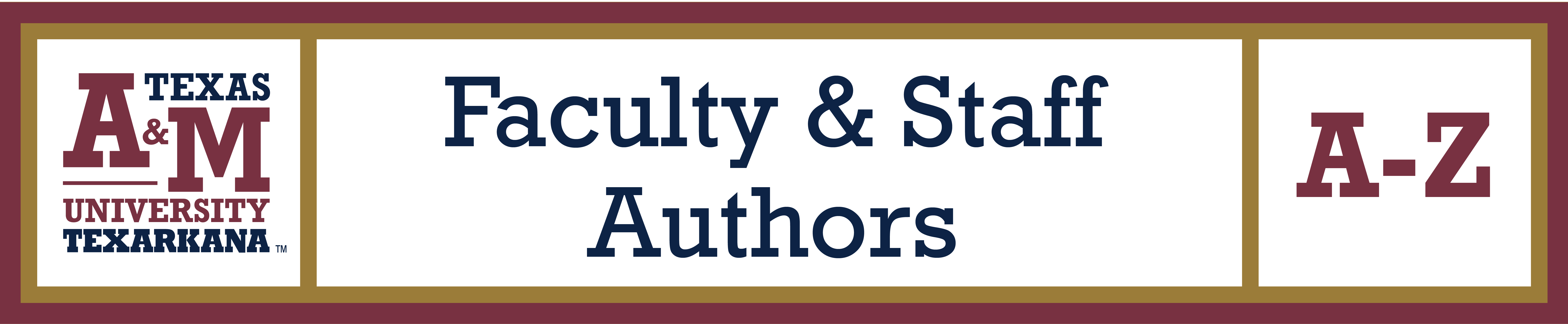 TAMUT Faculty & Staff Authors