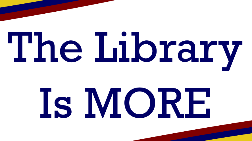 The library is more