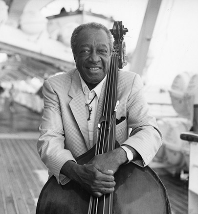 Milt Hinton portrait by Art Elgort 1990