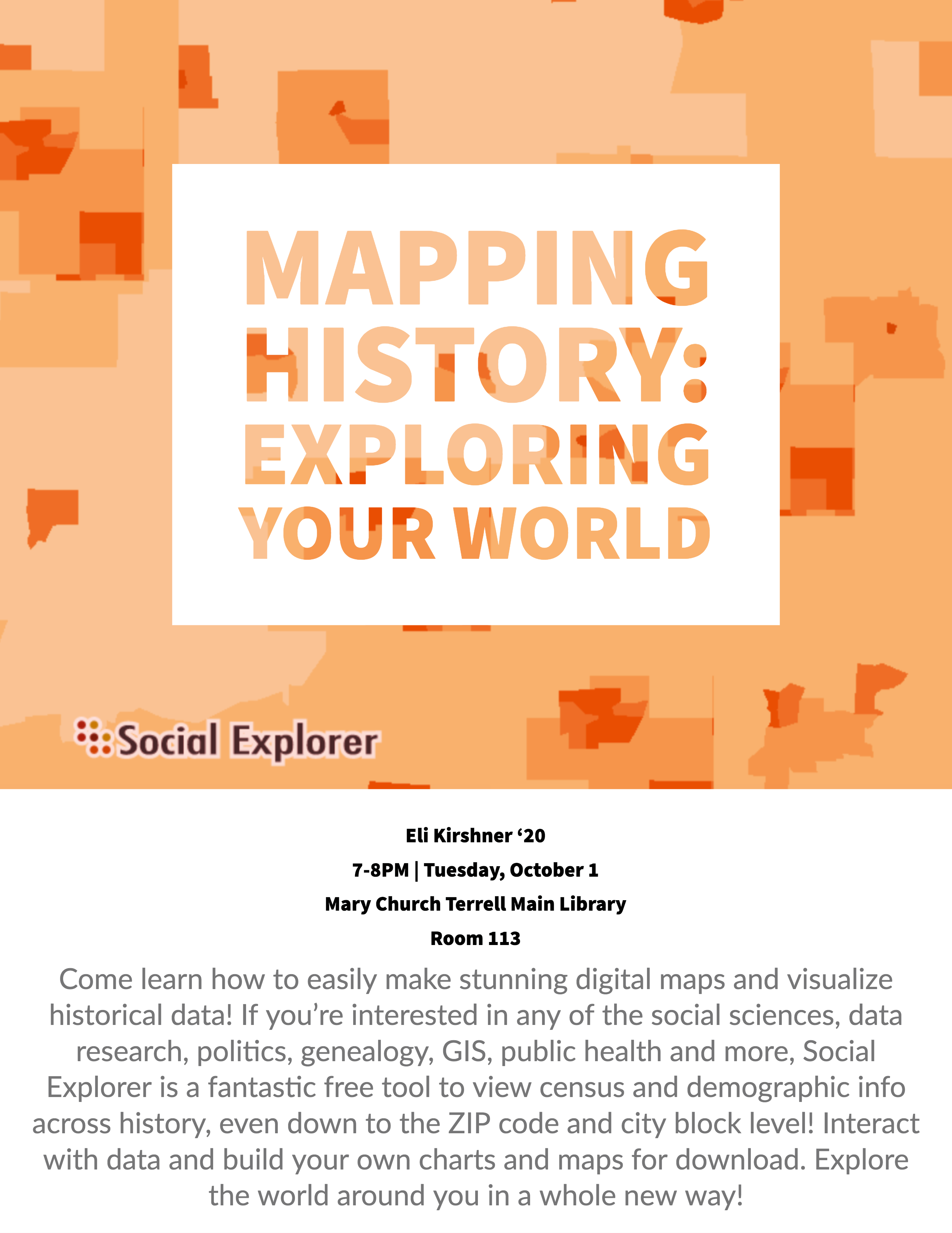 Mapping history: Exploring your world