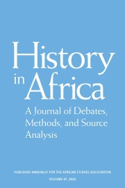 History in Africa