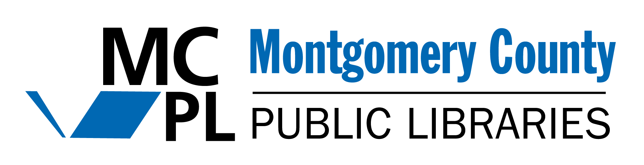 Montgomery County Public Libraries Logo