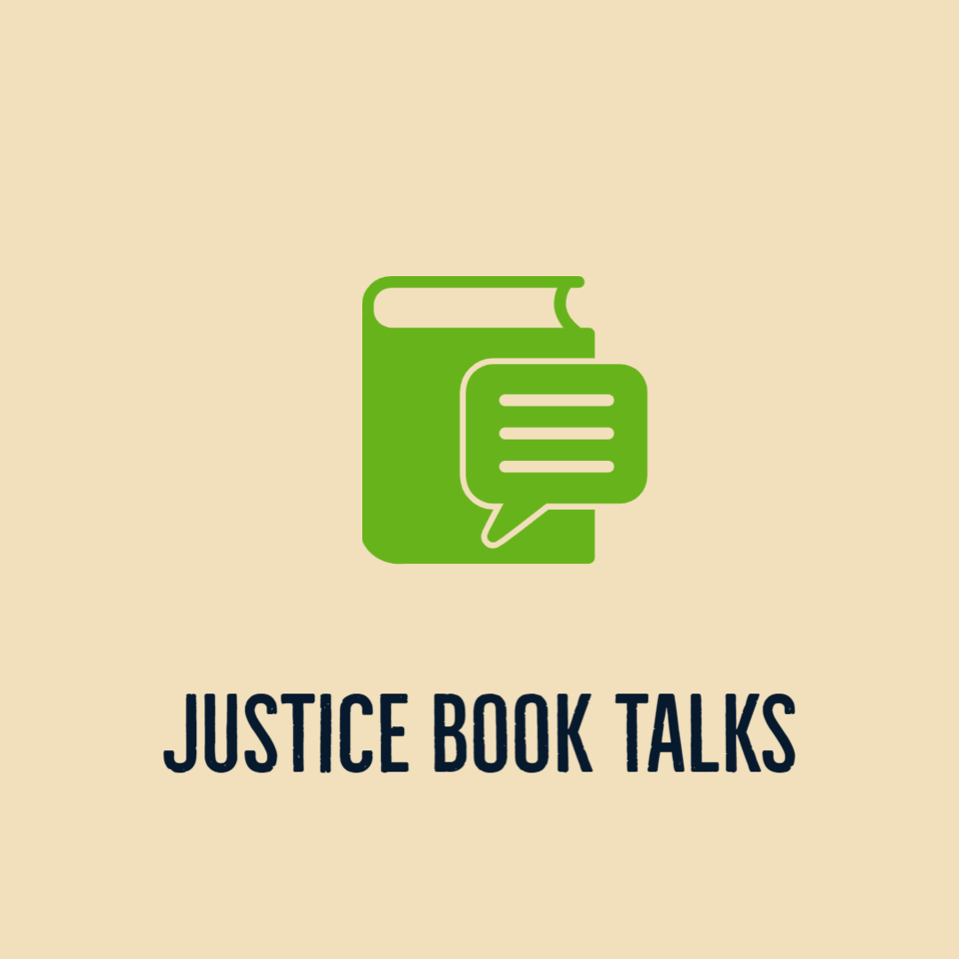 Justice book talks