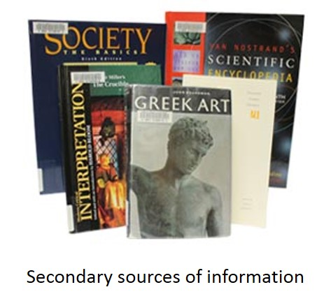 Secondary Sources of Information