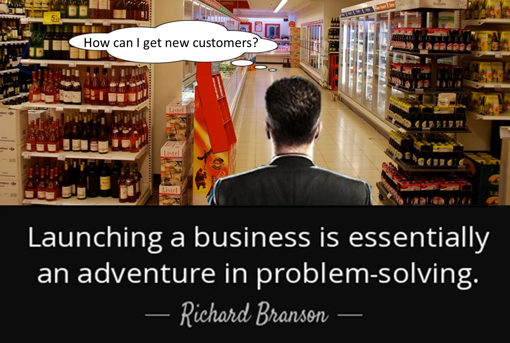 Launching a business is an adventure in problem solving.