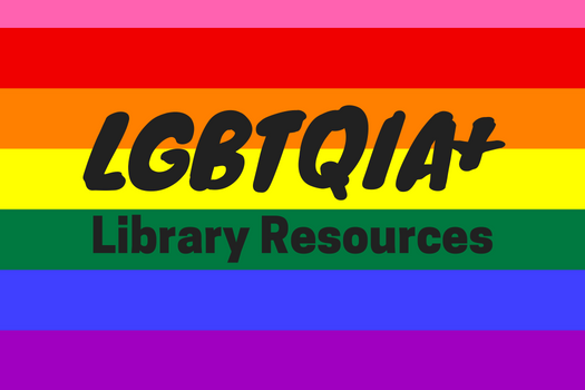 LGBTQIA+ Library Resources web image