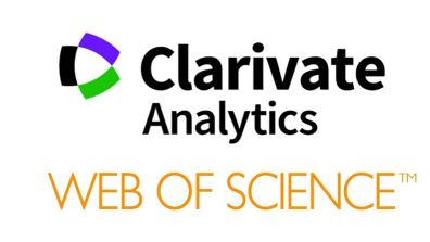 Web of Science/Clarivate Analytics banner