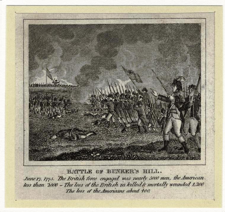 Battle of Bunker Hill, NYPL Digital Collections ID: 808545