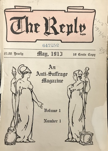 Cover of The Reply, May, 1913
