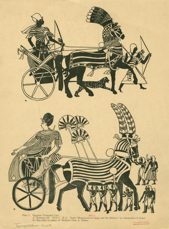 Egyptian Triumphal Cars