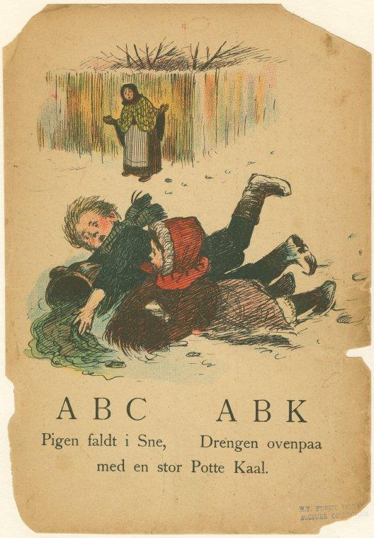 ABC. Children's Book Illustration.