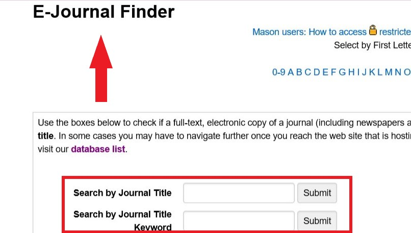 image of journal search