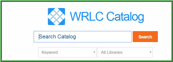 image of old WRLC catalog search interface