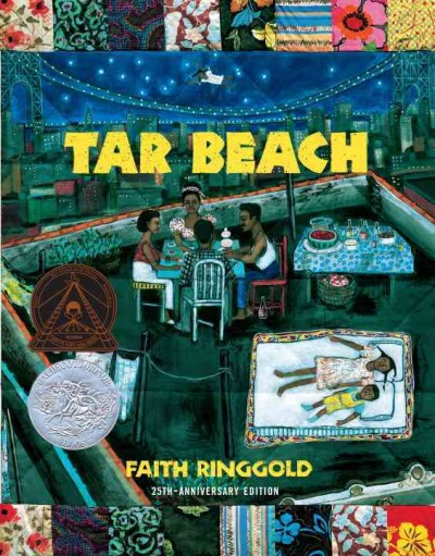 Book cover of Tar Beach.