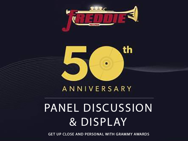 Freddie Records 50th Anniversary Panel Discussion & Display