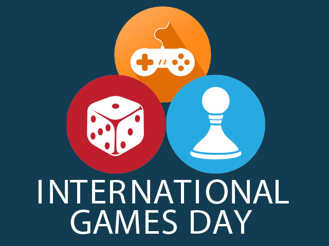logo for international games day
