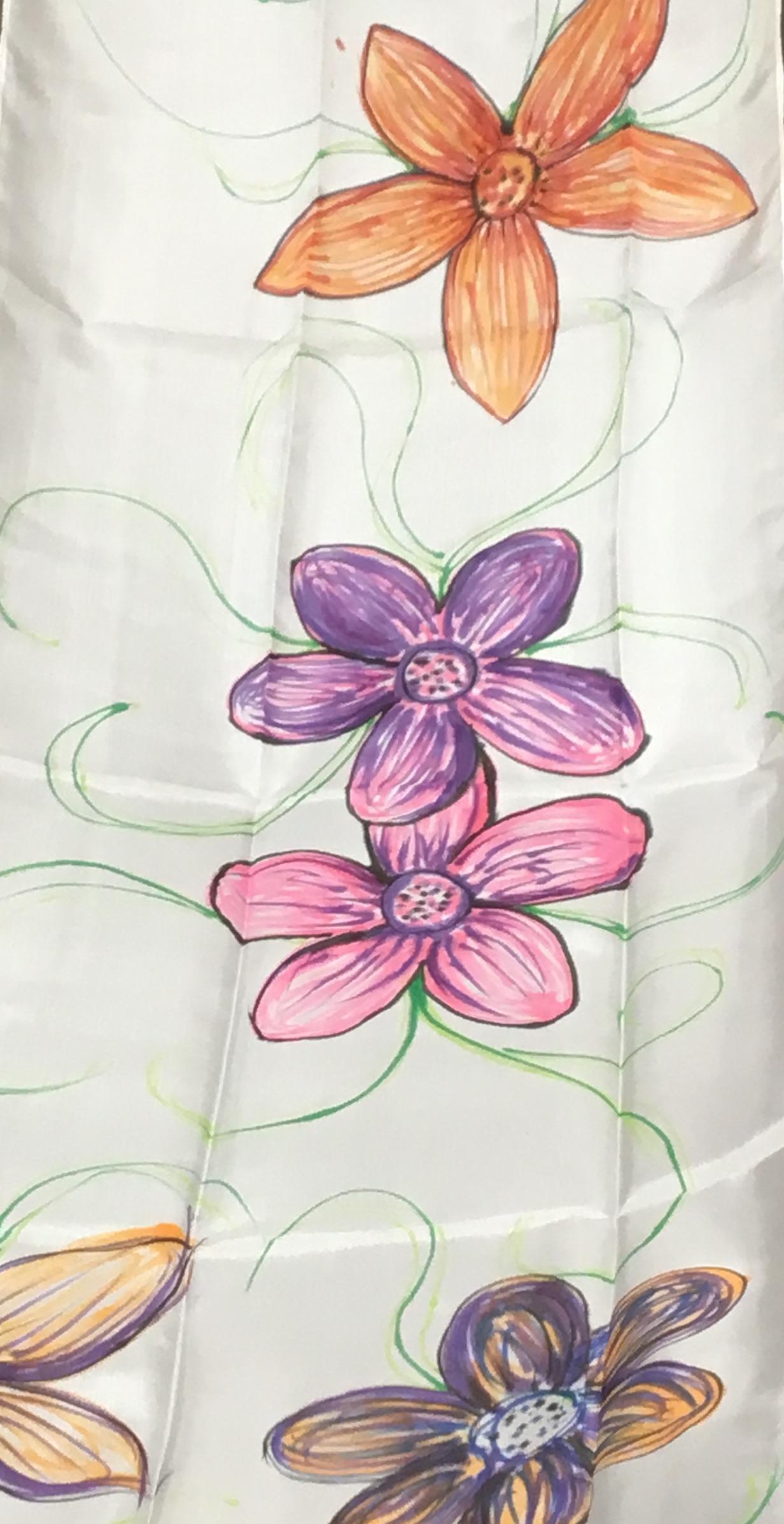 Silk Scarf Decorating
