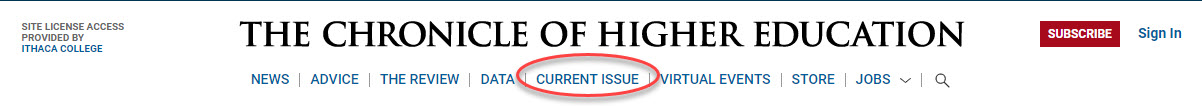 Current Issue link