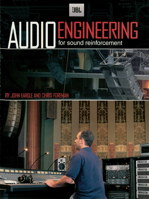 JBL Audio Engineering for Sound Reinforcement by John M. Eargle  Chris Foreman