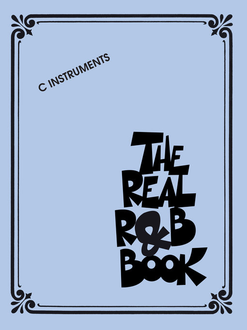 The Real R&B Book C Instruments by Hal Leonard Corp.