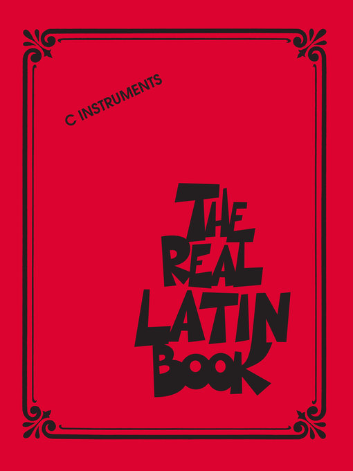The Real Latin Book For C Instruments by Hal Leonard Corp.