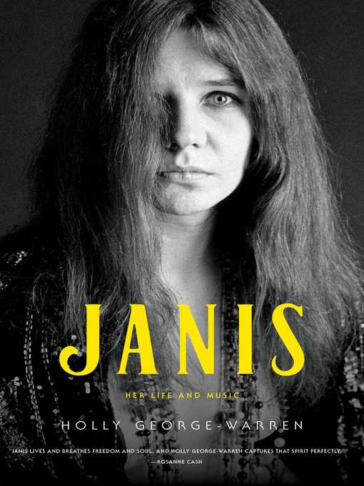Janis Her Life and Music  by Holly George-Warren