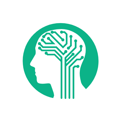 icon of human head and neural networks