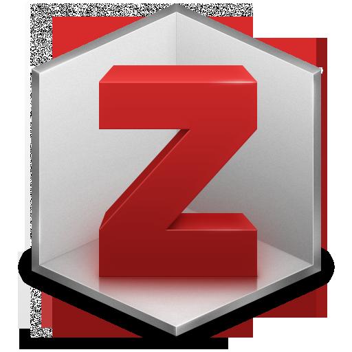 Zotero software logo - letter Z in a hexagon shape