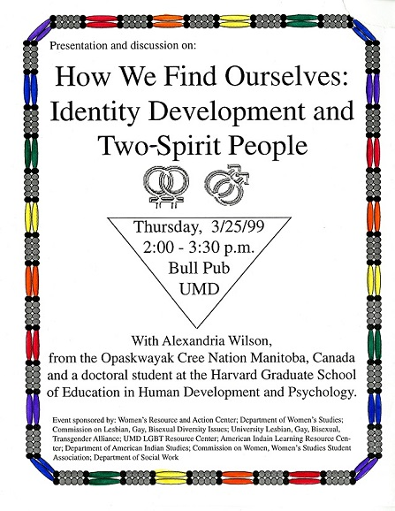 "Cover of ""How We Find Ouselves: Identity Development and Two-Spirt People""le"
