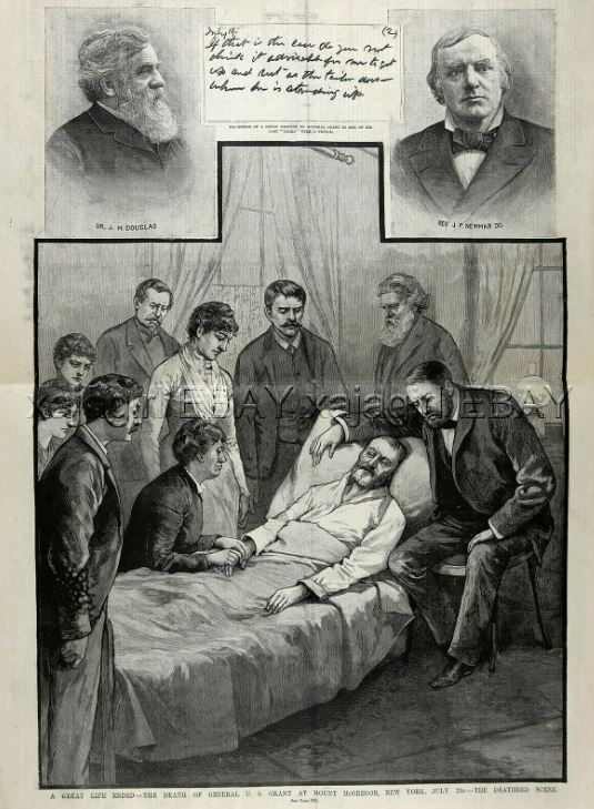 Grant's Death Bed