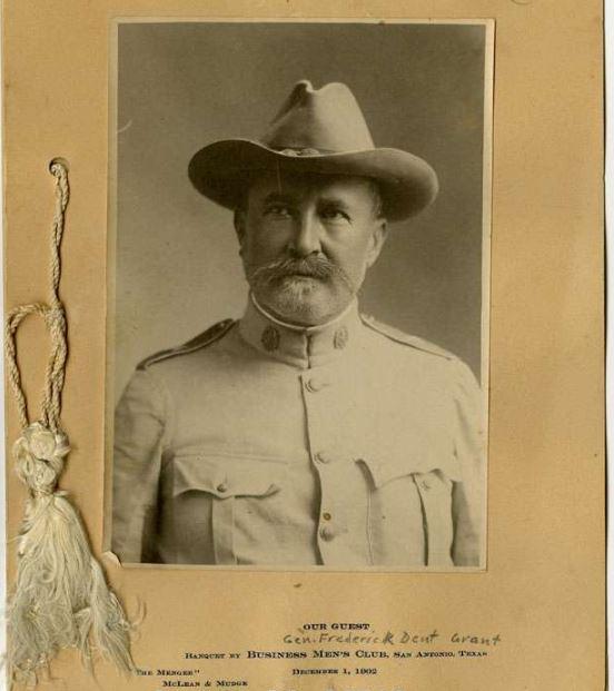 Frederick Dent Grant at San Antonio