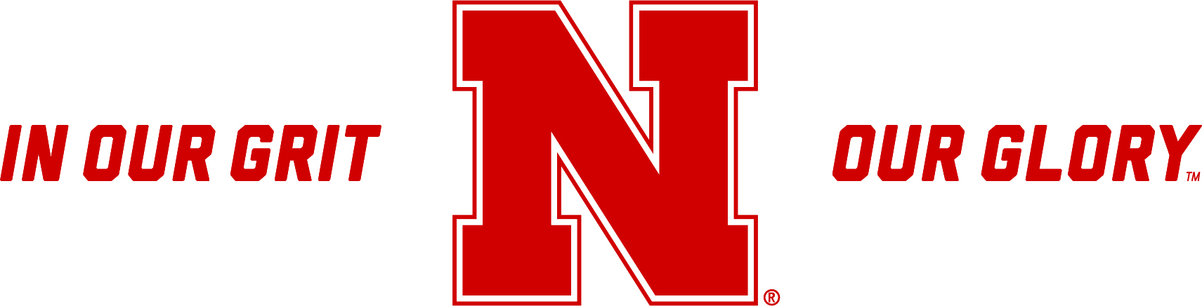 In our grit our glory Nebraska Cornhuskers logo