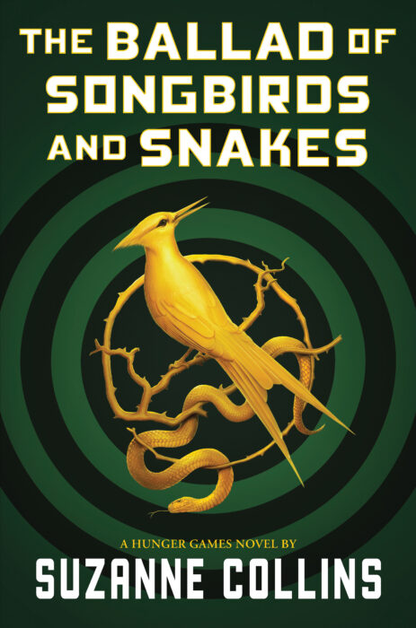 title cover art for the Ballad of Songbirds and Snakes