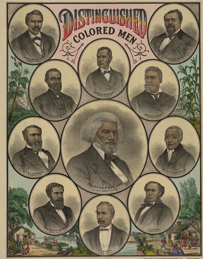 Distinguished Colored Men