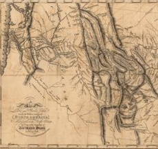 A map of Lewis and Clark's track across the western portion of North America