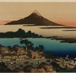 Pictorial envelop for Hokusai's 36 view of Mount Fuji