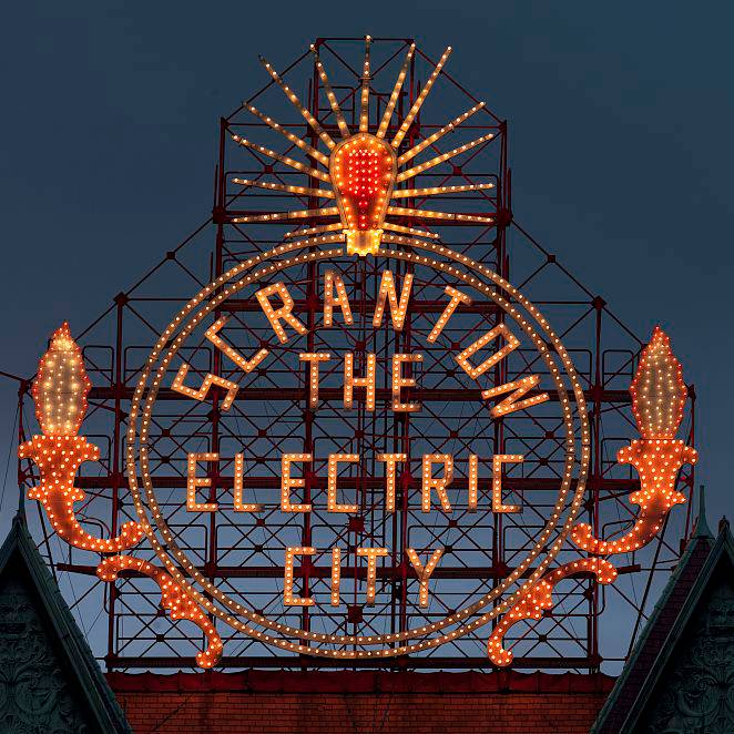 Historic Electric City Sign Scranton