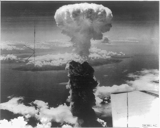 Second atomic bombing