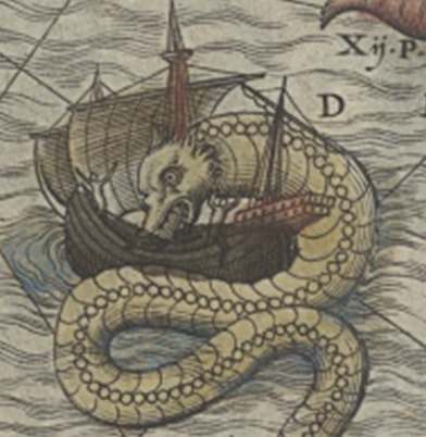 Detail from Map of the Sea