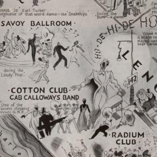 Harlem nightclub map