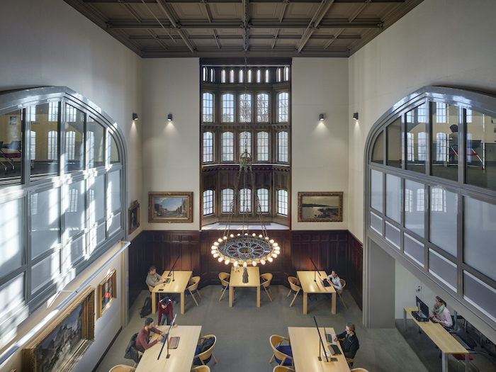 Dental Library reading room