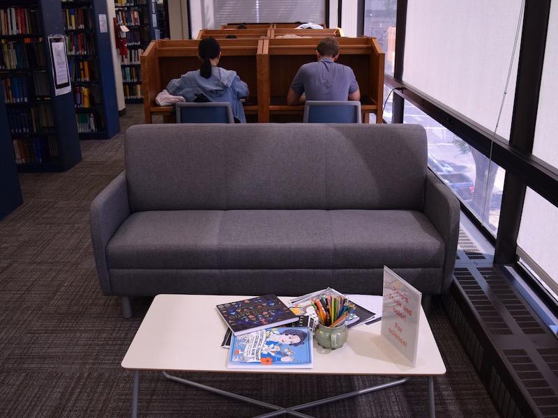 MPA Library Interior