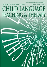 Child Language Teaching and Therapy
