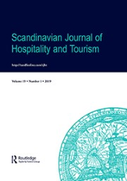 Scandinavian Journal of Hospitality and tourism