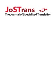 Journal of Specialised Translation