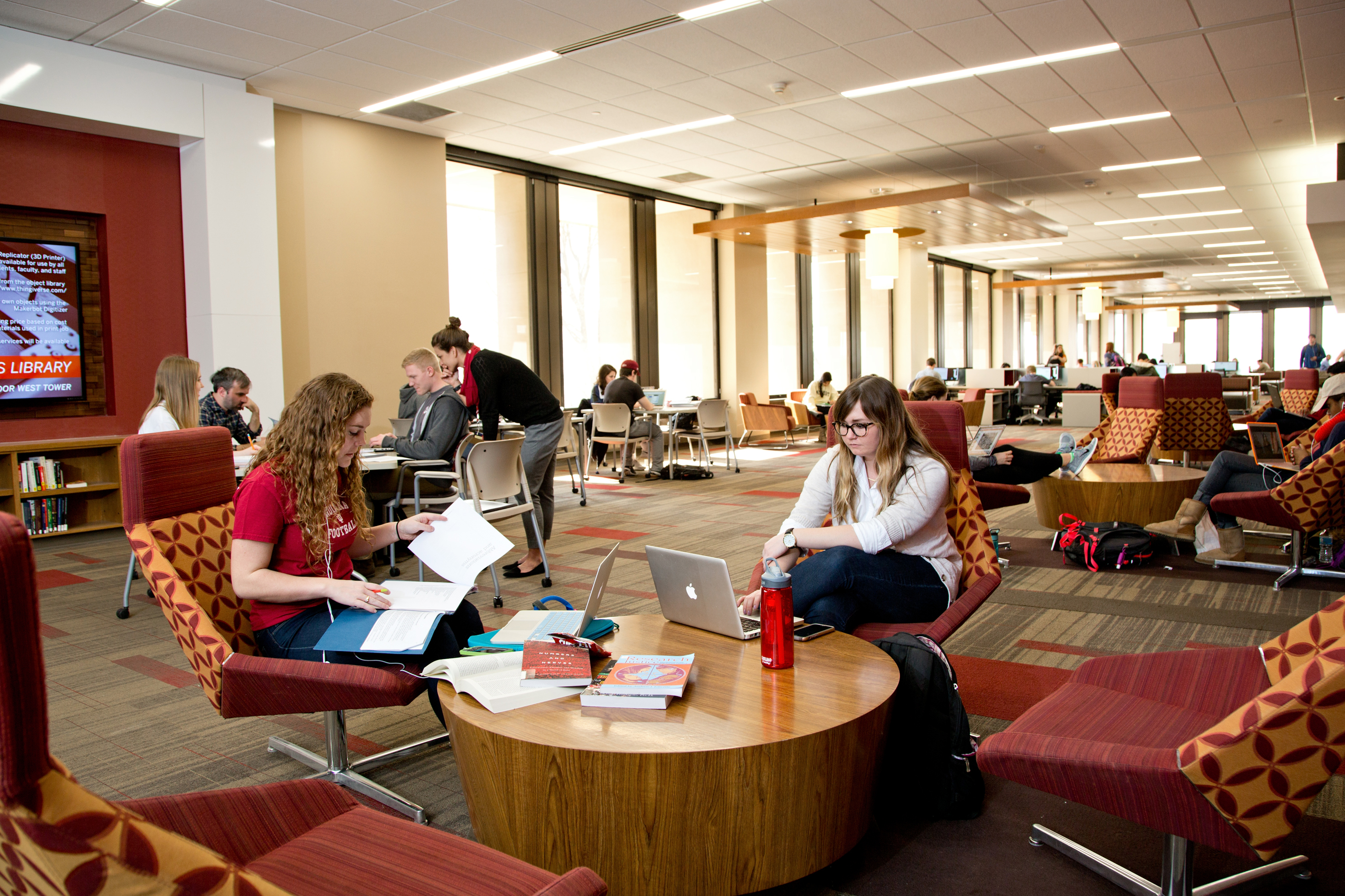 Wells Library Learning Commons