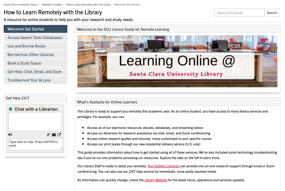 "Image of the Web Resource called ""How to Learn Remotely"""
