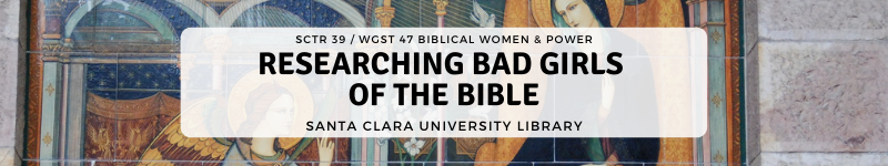 Image: Research Bad Girls of the Bible